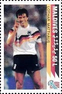 [The German National Team Winning the 1990 Football World Cup in Italy, Typ BOY]
