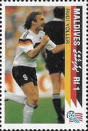 [The German National Team Winning the 1990 Football World Cup in Italy, Typ BOZ]