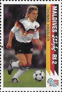 [The German National Team Winning the 1990 Football World Cup in Italy, Typ BPA]