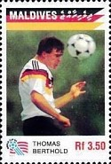 [The German National Team Winning the 1990 Football World Cup in Italy, Typ BPB]