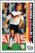 [The German National Team Winning the 1990 Football World Cup in Italy, Typ BPF]