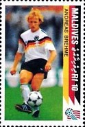 [The German National Team Winning the 1990 Football World Cup in Italy, Typ BPH]