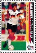 [The German National Team Winning the 1990 Football World Cup in Italy, Typ BPI]