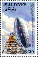 [The 125th Anniversary of the Birth of Hugo Eckener, Airship Pioneer, 1868-1954, Typ CAF]