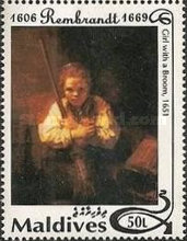 [The 325th Anniversary of the Death of Rembrandt, 1606-1669, Typ CBM]