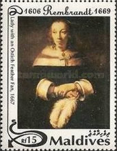 [The 325th Anniversary of the Death of Rembrandt, 1606-1669, Typ CBR]