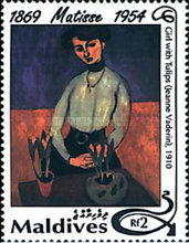 [The 40th Anniversary of the Death of Henri Matisse, 1869-1954, Typ CBU]