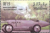 [The 100th Anniversary of Mercedes-Benz Cars, type EOQ]