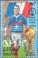 [Football World Cup - South Korea and Japan (2002), type EPH]