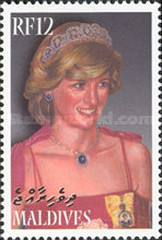 [The 5th Anniversary of the Death of Princess Diana, 1961-1997, type EXF]