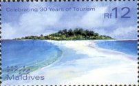 [The 30 Years of Maldives' Tourism Promotion, type EYK]