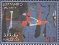 [The 20th Anniversary of the Death of Joan Miro, 1893-1983, type FAM]
