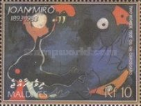 [The 20th Anniversary of the Death of Joan Miro, 1893-1983, type FAO]