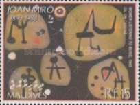 [The 20th Anniversary of the Death of Joan Miro, 1893-1983, type FAP]
