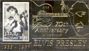 [The 70th Anniversary of the Birth of Elvis Presley, 1935-1977, Typ FOE]