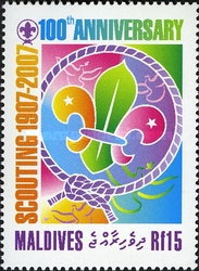 [The 100th Anniversary of Scouting, Typ FSU]
