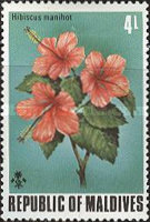 [Flowers of the Maldive Islands, Typ RB]