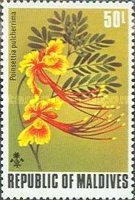 [Flowers of the Maldive Islands, Typ RE]