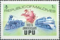 [The 100th Anniversary of Universal Postal Union, Typ RZ]