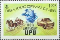 [The 100th Anniversary of Universal Postal Union, Typ SC]