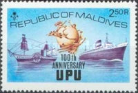[The 100th Anniversary of Universal Postal Union, Typ SD]