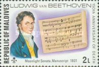[The 150th Anniversary of the Death of Ludwig van Beethoven, German Composer, 1770-1827, Typ YT]