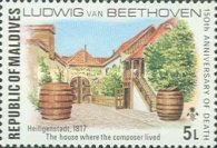 [The 150th Anniversary of the Death of Ludwig van Beethoven, German Composer, 1770-1827, Typ YW]