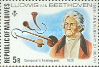 [The 150th Anniversary of the Death of Ludwig van Beethoven, German Composer, 1770-1827, Typ YZ]