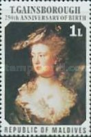 [The 250th Anniversary of the Birth of Thomas Gainsborough, 400th Anniversary of the Birth of Rubens, and 500th Anniversary of the Birth of Titian, Typ ZF]