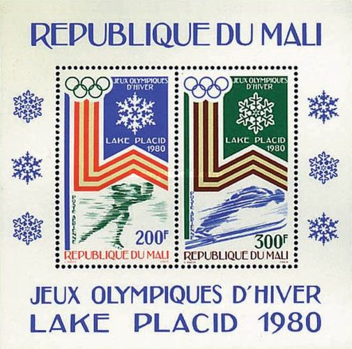 [Airmail - Winter Olympic Games - Lake Placid, USA, type ]