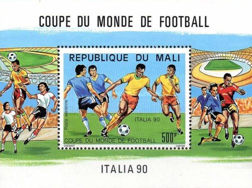 [Airmail - Football World Cup - Italy, type ]