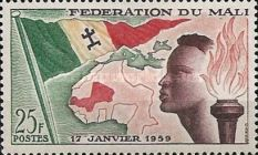 [Founding of the Federation of Mali, type A]