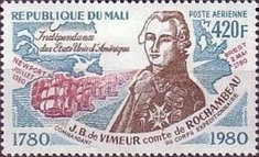 [Airmail - French Support for American Independence, type AAB]