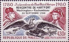 [Airmail - French Support for American Independence, type AAC]
