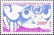 [The 60th Anniversary of League of Nations, type AAD]