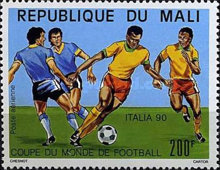 [Airmail - Football World Cup - Italy, type ALS]