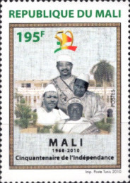 [The 50th Anniversary of Independence, type CND]
