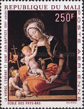 [Airmail - Religious Paintings, type FZ]