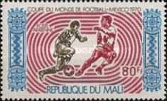 [Airmail - Football World Cup - Mexico, type GO]