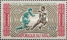 [Airmail - Football World Cup - Mexico, type GO1]