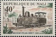[Mali Railway Locomotives from the Steam Era, type HD]