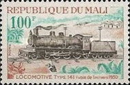 [Mali Railway Locomotives from the Steam Era, type HG]