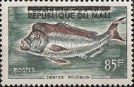 """[Issues of 1960 Overprinted """"REPUBLIQUE DU MALI"""", type L1]"""