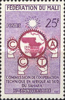 [The 10th Anniversary of African Technical Co-operation Commission, type M]