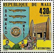 [Airmail - The 75th Anniversary of Rotary International, type YN]