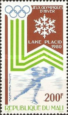 [Airmail - Winter Olympic Games - Lake Placid, USA, type YT]
