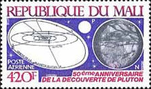 [Airmail - The 50th Anniversary of Discovery of Planet Pluto, type ZN]