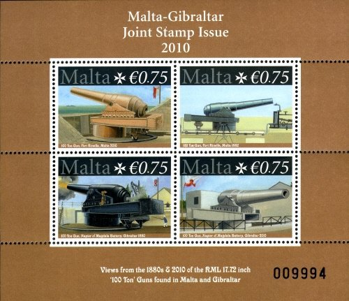 [Guns - Malta-Gibraltar Joint Issue, type ]