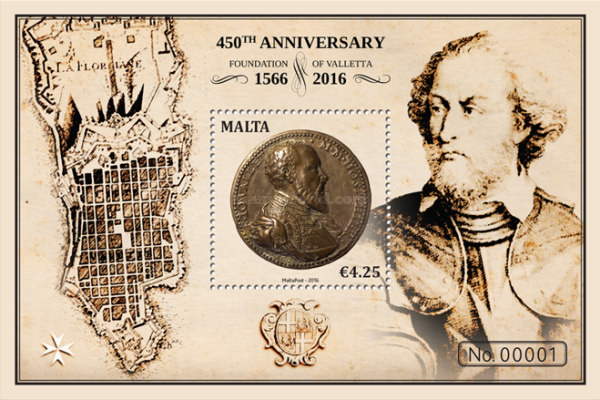 [The 450th Anniversary of the Foundation of Valletta, type ]