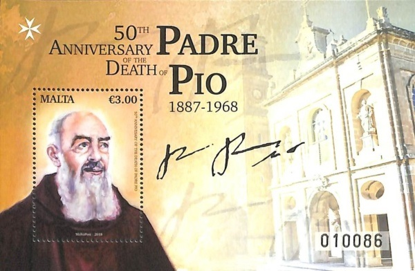 [The 50th Anniversary of the Death of Saint Pio of Pietrelcina, 1887-1968, Typ ]